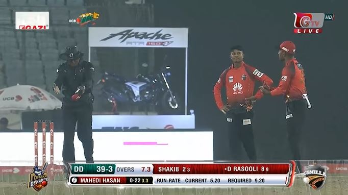 Photo of The warm of the instant during Dhaka – Comilla Clash – BPL T20 [Video]
