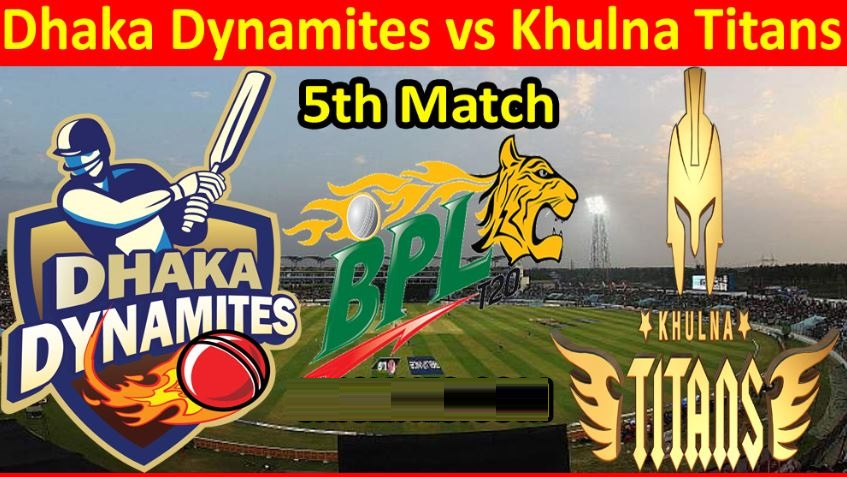 Photo of Dhaka Dynamites vs Khulna Titans Live Stream GTV – BPL T20 2019 Live Score, Preview & Prediction