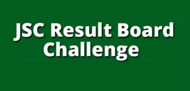 JSC & JDC Board Challenge Re-security Result 2019