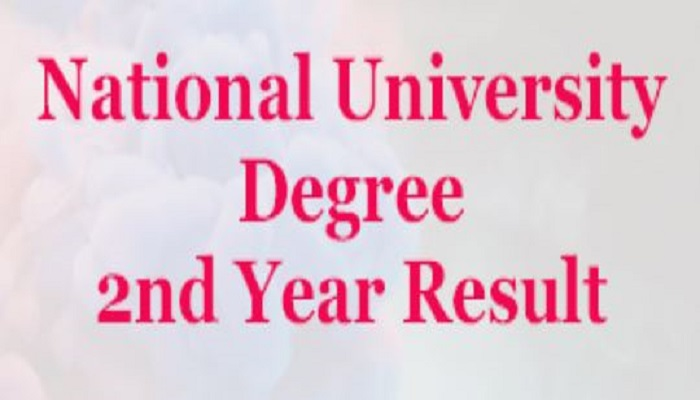 Photo of National University (NU) Degree 2nd Year Result – nu.ac.bd