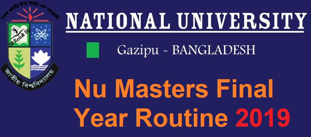 Photo of NU (National University) Masters Final Year Routine 2019