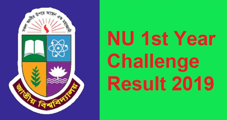 Photo of NU 1st Year Result Challenge 2019 Notice And Result