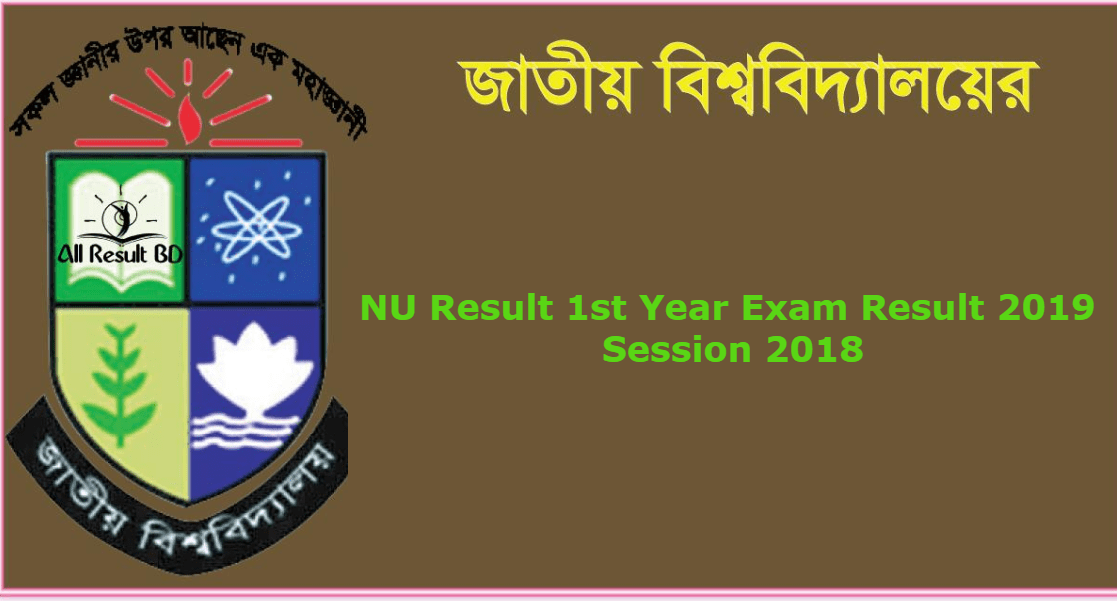 Photo of NU Result 1st Year Exam Result 2019 Session 2018 [Update]