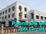 Pabna DC Office Job Circular 2019