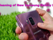 New Samsung Galaxy S10