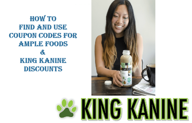 Ample Foods & King Kanine Discounts