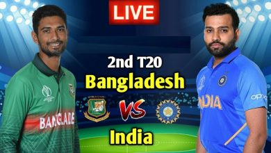Bangladesh vs India 2nd T20I Live Streaming