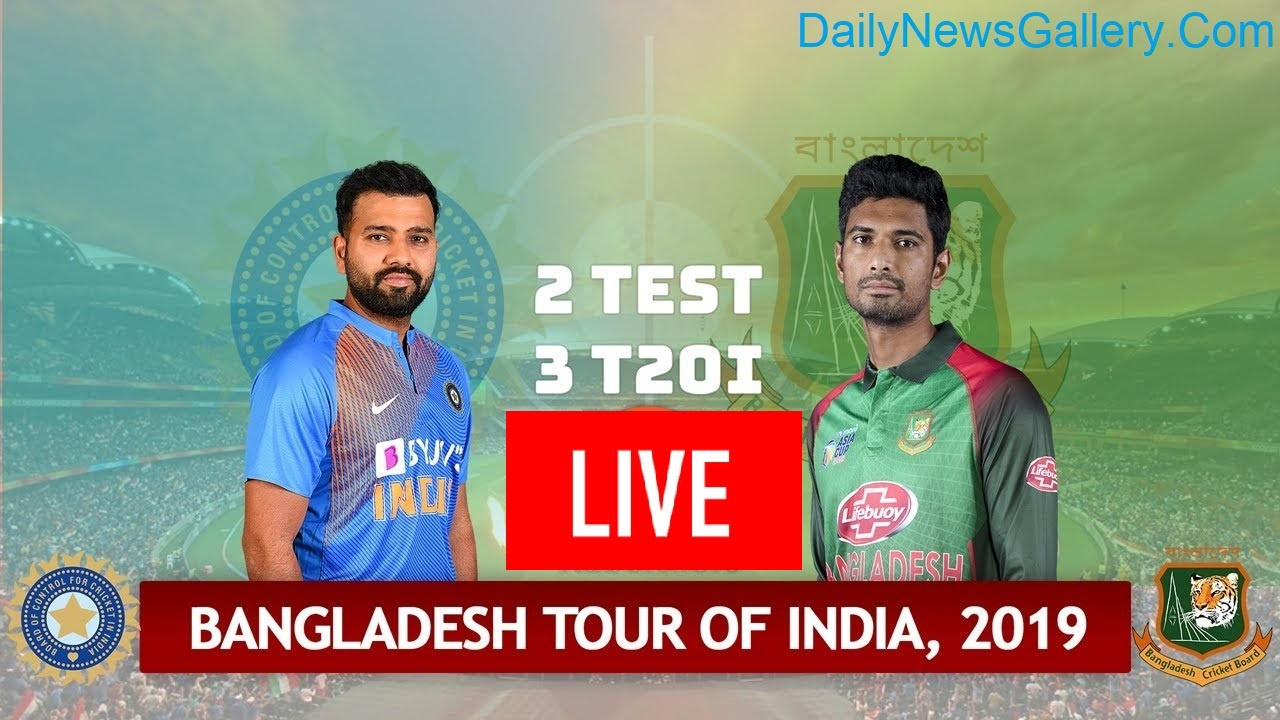 Photo of Bangladesh vs India T20I & Test 2019 – Live Streaming, Squads & Match Details