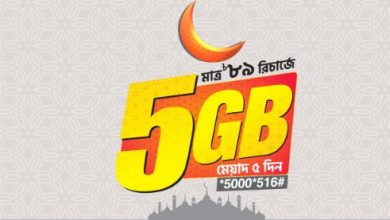 Banglalink Eid Offer 2019 Get 5GB Internet 89Tk