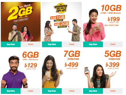 Photo of Banglalink Internet Package 2019 Latest Update