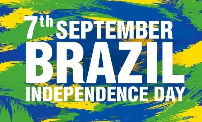 Brazil is celebrating their 197th Independence day
