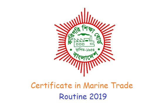 Certificate in Marine Trade Routine 2019