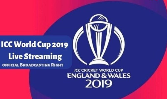 Full List of Cricket World Cup 2019 Live Broadcasting TV