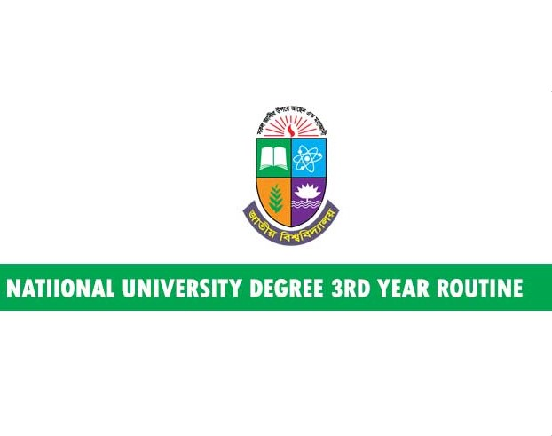 Photo of National University has published Degree 3rd Year Routine 2019