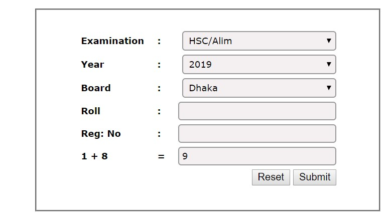 Photo of Dhaka Board HSC Result 2019 Check Online