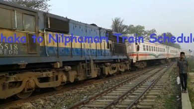 Dhaka to Nilphamari Train Schedule