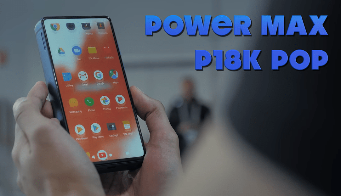 Energizer P18K Pop powerbank smartphone
