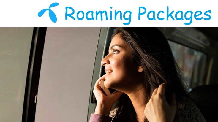 Photo of Grameenphone Roaming Packages