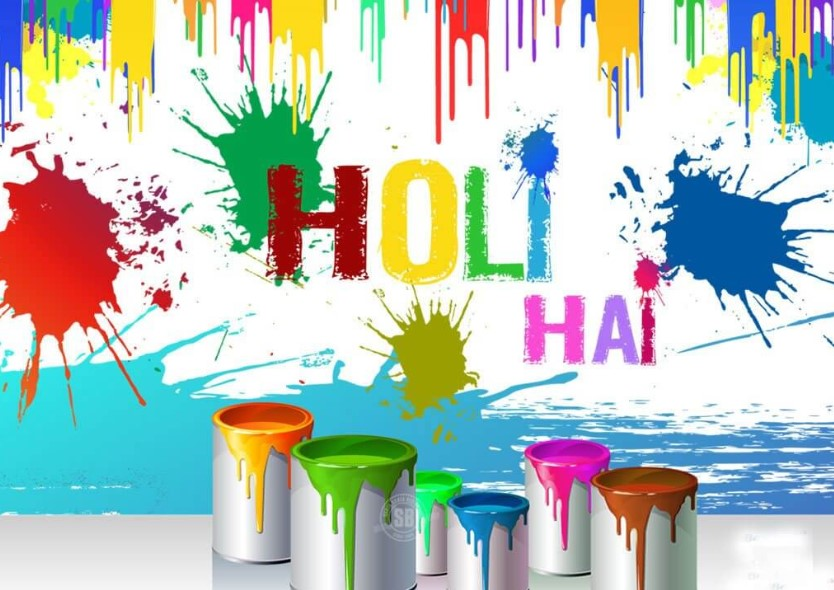 Photo of Happy Holi 2019 HD Wallpaper for Free Download