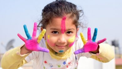 Holi is Celebrating in India and Over the World