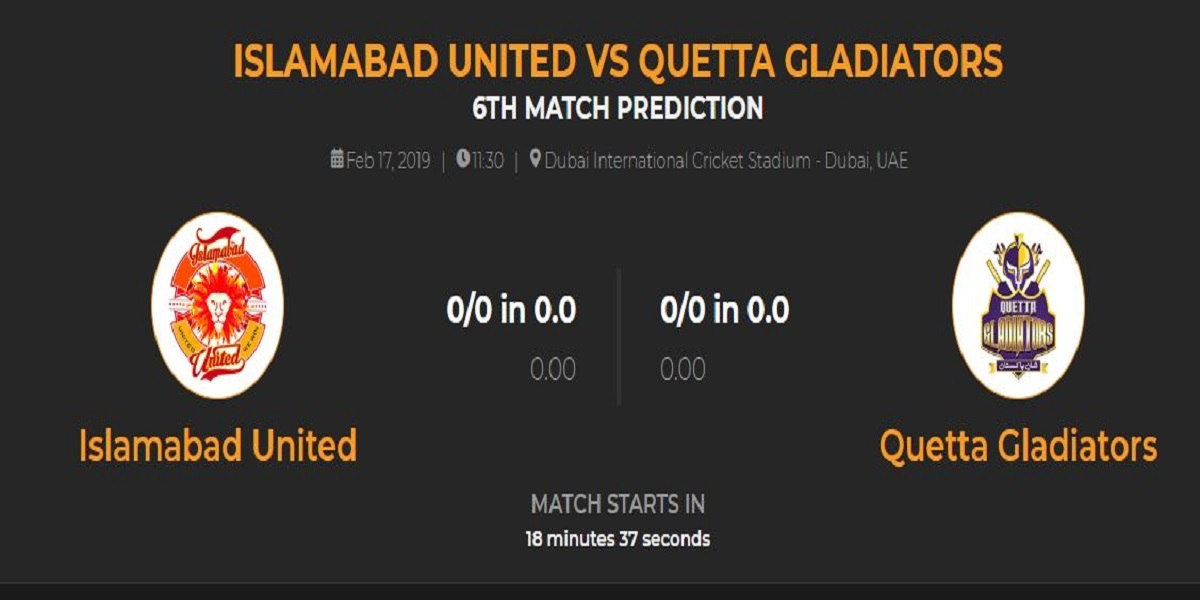 Photo of Islamabad VS Quetta PSL 2019 Match 6 Preview, Squads & Live update