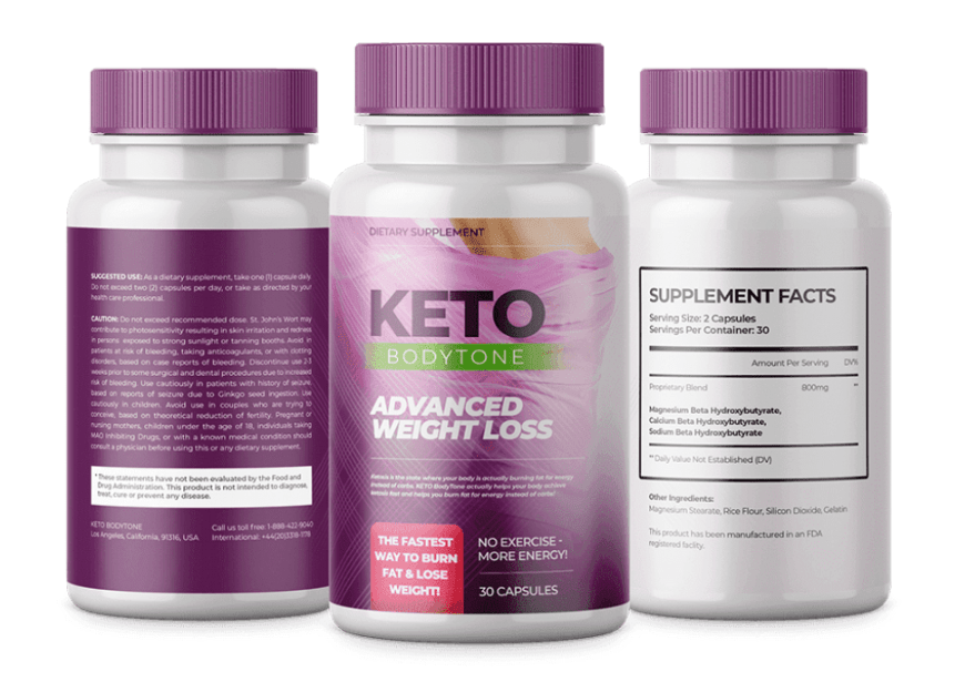 Photo of Keto Body Tone Reviews 2020 – Pure Ketogenic Weight Loss Formula!