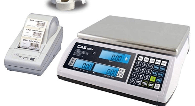 Photo of How Label Printer Scale Works