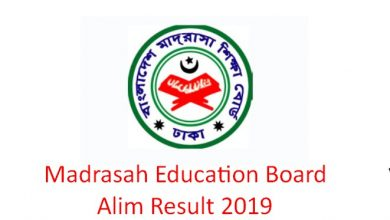 Madrasah Education Board Alim Result 2019