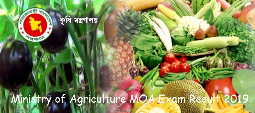 Photo of Ministry of Agriculture MOA Exam Result 2019