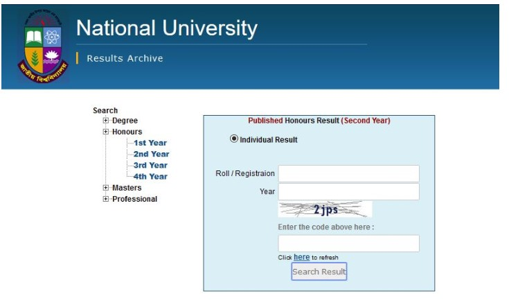 Photo of NU Honours 2nd year result 2019 has published