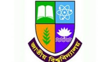 National University BS Ed Exam Routine 2018