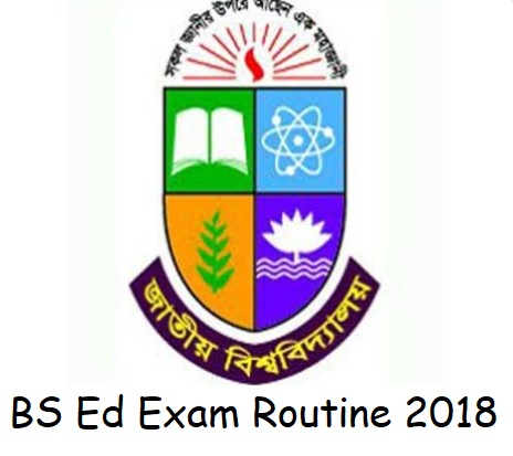 Photo of National University BS Ed Exam Routine 2018