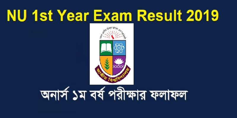 National University Honours 1st Year Exam Result 2019