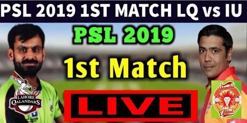 Photo of PSL 2019 Islamabad United vs Lahore Qalandars squad, scoreboard & live streaming