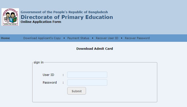 Primary assistant teacher admit card download started