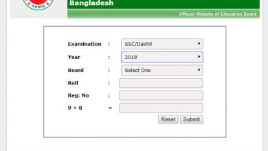 All Board SSC result publish has been completed by the education board