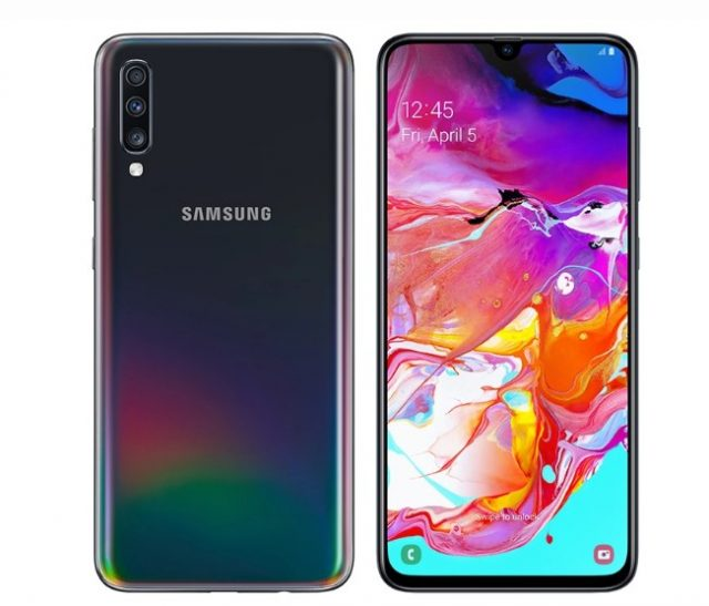 Samsung Galaxy A70 has a large display and 32 megapixel Selfie camera