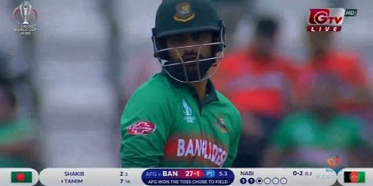 Photo of Tamim-Shakib's play, see Live Score at the end of 5 overs