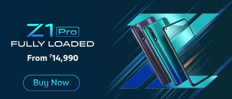 Photo of Vivo Z1 Pro Smartphone price updated in India