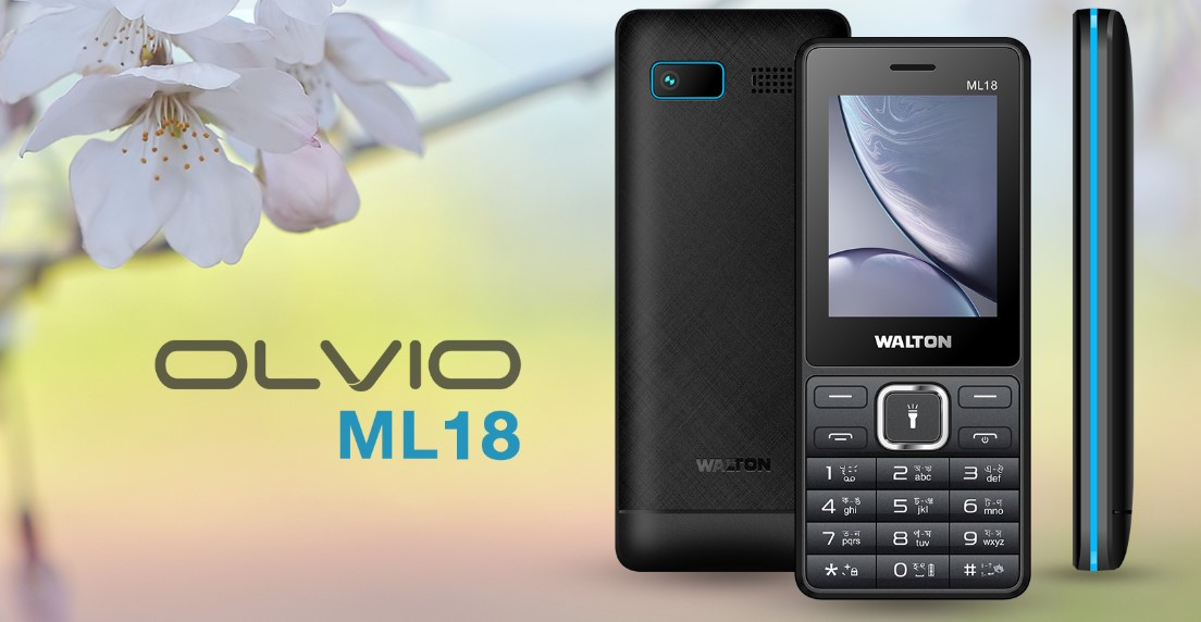 Photo of Walton Olvio ML18 Mobile Price & Full Specification