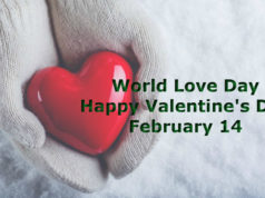 Happy Valentine's Day February 14