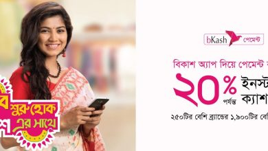 bKash Pohela Boishakh Cash Back Offer 2019